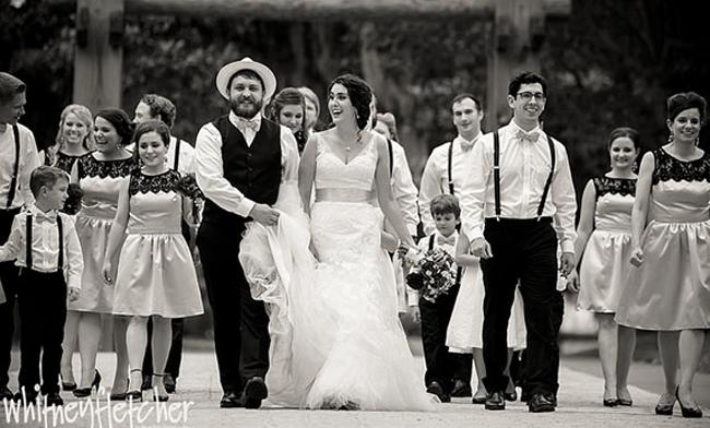 Rockin Wedding Hipster Style