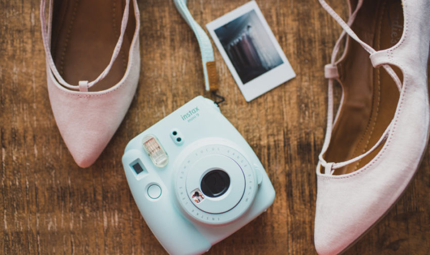 Burch House Wedding DJ - Shoes and Camera