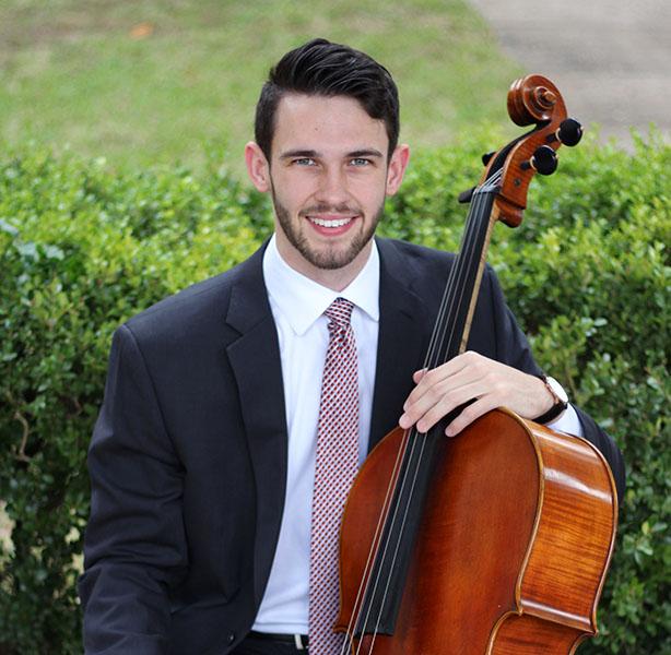 Joe, Cellist for Amplify Entertainment